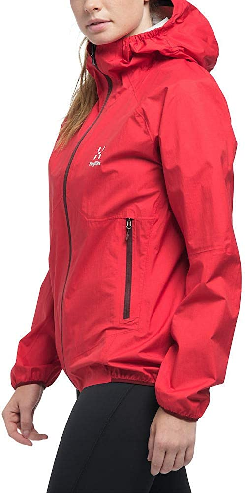 Haglöfs L.i.m Proof Multi Giacca Donna 4dl/Hibiscus Red