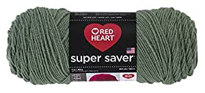 RED HEART Super Saver Yarn, Light Sage