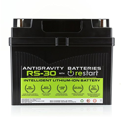 Antigravity RS-30 Lithium RE-START Car Battery