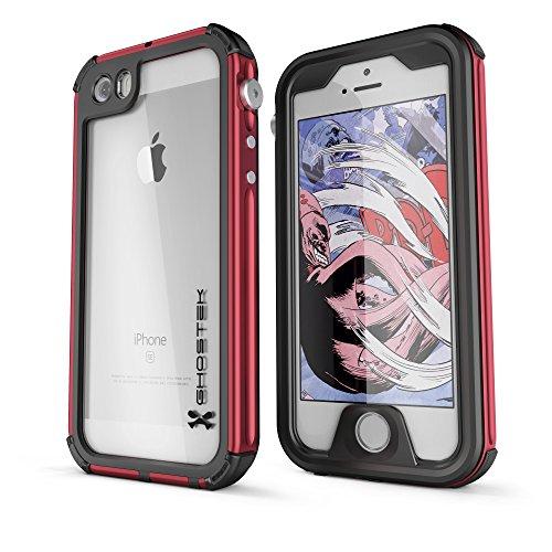 DualPro Shockproof Case for Apple iPhone SE/5S/5 (Black) - 5