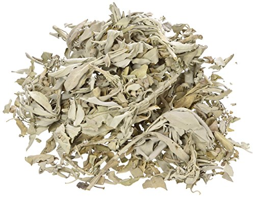White Sage California Smudge Cluster Herb Incense Bulk, 1 lb by White Sage (NO BRAND)