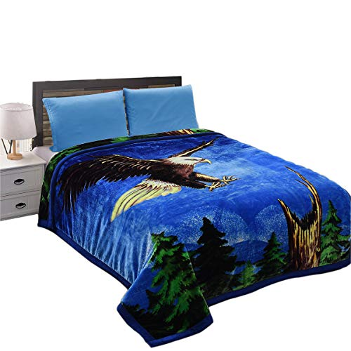 (JML Heavy Warm Blanket, Plush Blanket King Size 85