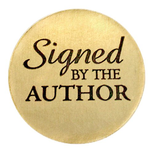 - Signed by the Author Stickers