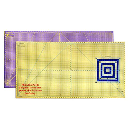 Martelli Extra-Large Color Contrasting Cutting Mat 30'' x 60'' by Martelli