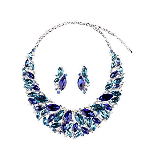 Hamer Bridal Link Costume Jewelry Crystal Choker