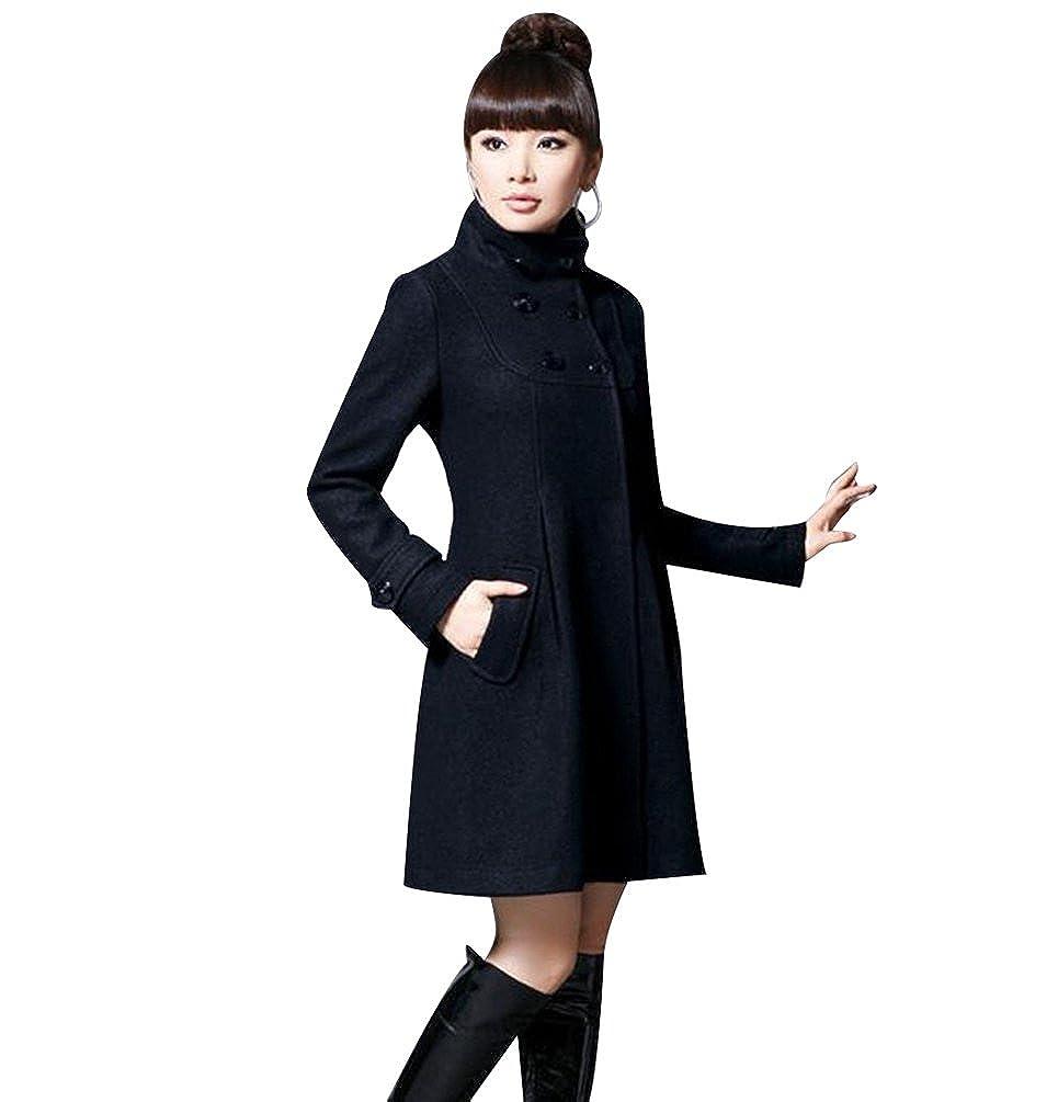 9a090d51f Jitong Mujer Abrigo Larga de Capa Chaqueta con Capucha Slim Fit Jacket Coat  Outwear  Amazon.es  Ropa y accesorios