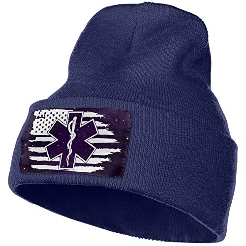 ed3ad3d738c JSHG JDJG Unisex Knitted Hat Fashion Skull Cap Knitting Hats - American  Flag EMS Star of