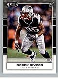 #7: 2017 Panini Playoff #282 Derek Rivers Rookie NM-MT Patriots