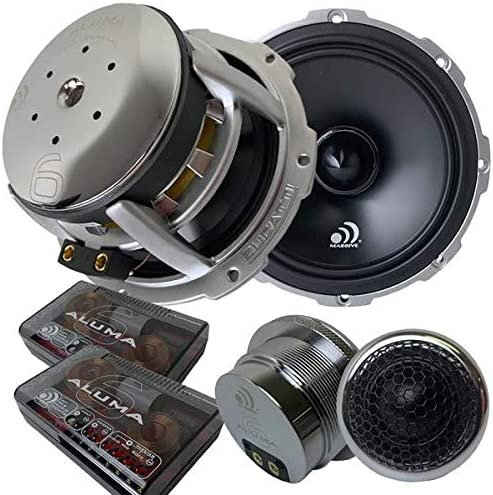 150 Watts RMS // 300 watts MAX Massive Audio M6R 6.5 Inch Single Driver | Sold Individually Replacement Speaker for MK6 Component Set 4 Ohm