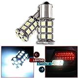 CCIYU 2 Pack Xenon White High Power 6000K LED Bulb 1156 BA15S 24SMD For Parking DRL Turn Signal Backup Reverse Brake Light Bulb Lamp