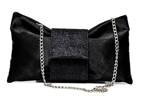 Schreker Regina Bag Black 655 Glitter qvSXSwdx