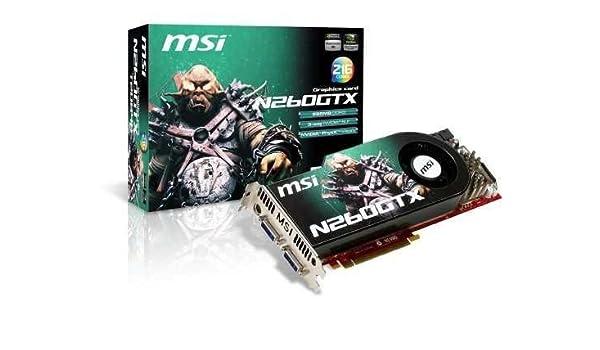 Amazon.com: MSI N260GTX T2D896 OCV4 Tarjeta Gr?ífica Msi ...