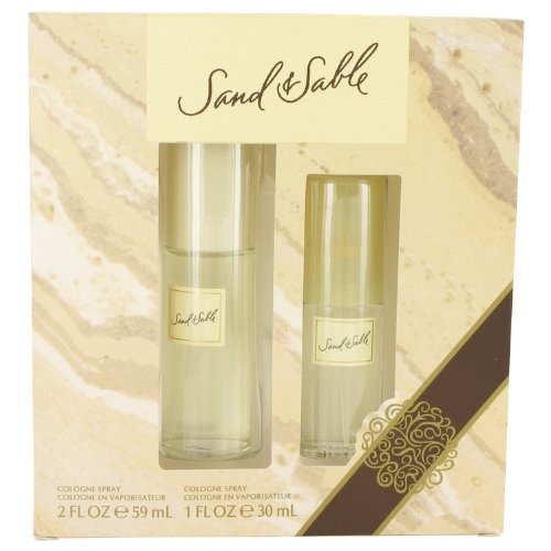 Sand & Sable Perfume By Coty 2 oz Cologne Spray + 1 oz Co...