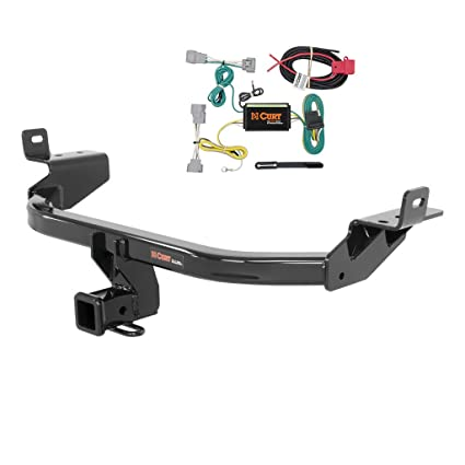 amazon com: curt class 3 trailer hitch bundle with wiring for 2014-2016 jeep  cherokee - 13172 & 56208: automotive