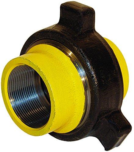 Dixon 1'' Forged Steel Hammer Union 1002 Series, Blue Sub, Red Nut (HU1002100)