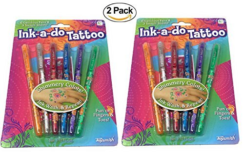 Toysmith Ink-a-Do Tattoo Pens (2-Pack) by Toysmith (Image #1)