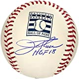 "Jim Thome""HOF 18"" Autographed Hall of Fame Baseball (JSA) - Autographed Baseballs"
