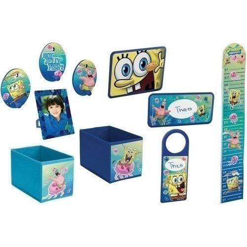 amazoncom spongebob squarepants room decor set 10 piece childrens room decor baby - Spongebob Bedroom Set