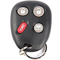 ACDelco 15135557 GM Original Equipment 4 Button Keyless Entry Remote Key Fob