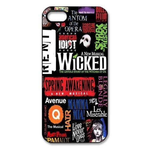 Broadway Phantom of the Opera wicked cat jigsaw - Titanic Phone Case Iphone 5