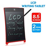 LCD Writing Tablet, Transer 8.5'' LCD Drawing Board/ Message Board/ Screen Handwriting Pad Best Paperless Digital Drawing/Write Tool Graffiti Board with Stylus for Kids, Family Memo, Office Writing