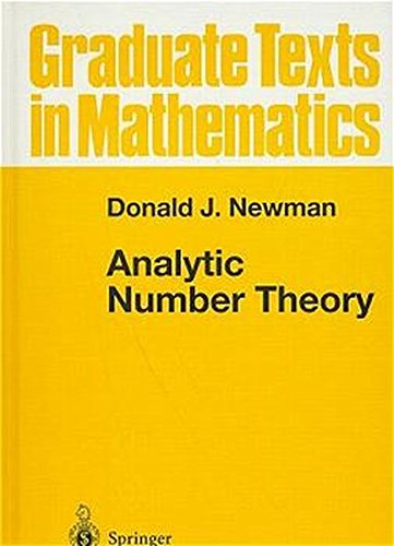 Analytic Number Theory (Graduate Texts in Mathematics, Vol. 177)