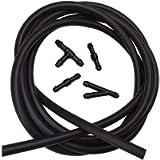 BUENNUS Car Windshield Washer Fluid Hose Kit,200cm (78.8inch) Windshield Sprayer Hose Windshield Jet Spray Wiper Hose…