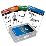 Fitdeck Exercise Playing Cards for Guided Fitness Equipment Workouts