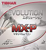 TIBHAR Evolution MX-P 2.1-2.2 Table Tennis Rubber Ping Pong (Red, 2.1-2.2)
