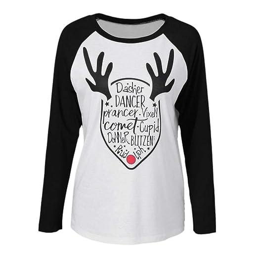 hengshikeji clearance womens tunic tops christmas decor t shirtsplus size shirts alphabet print
