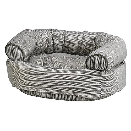 Bowsers Diamond Series Microvelvet Double Donut Dog Bed by Bowsers