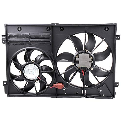 OCPTY Replacement Cooling Fan Assembly for Audi