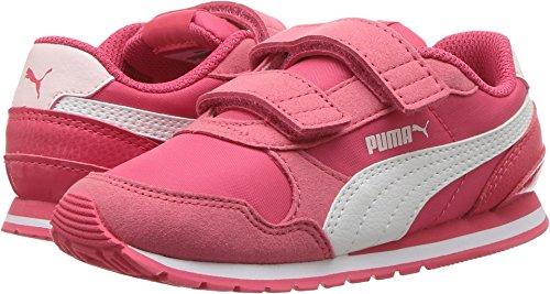 PUMA Baby ST Runner NL Velcro Kids Sneaker, Paradise Pink White, 10 M US Toddler