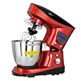 Cheap Refurbished Litchi Cooking Stand Mixer 7.4 Quart, Red