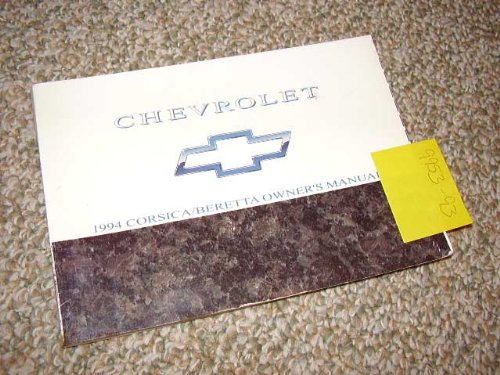 1994 Chevrolet Corsica, Beretta Owners Manual