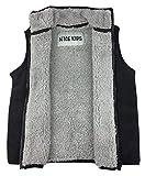 N'Ice Little Boys and Baby Warm Sherpa Lined Fleece Outerwear Vest