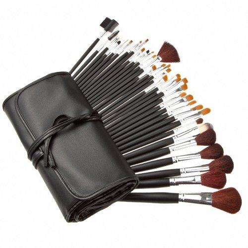 AwesomeMall-Professional-34pcs-Wood-Makeup-Brushes-Eyeshadow-Powder-Brush-Set-Kit-with-Case