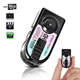 Toughsty 16GB Mini Pocket DV Camera Small Compact Travel Digital Video Camcorder Motion