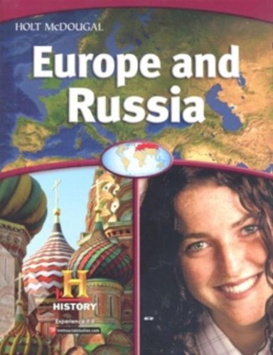 World Geography: Student Edition Europe and Russia 2012