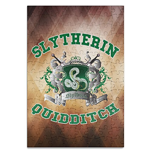 Beauty Harry Potter-Slytherin Quidditch 5 Personalized Picture Print 120 Piece Jigsaw Puzzle