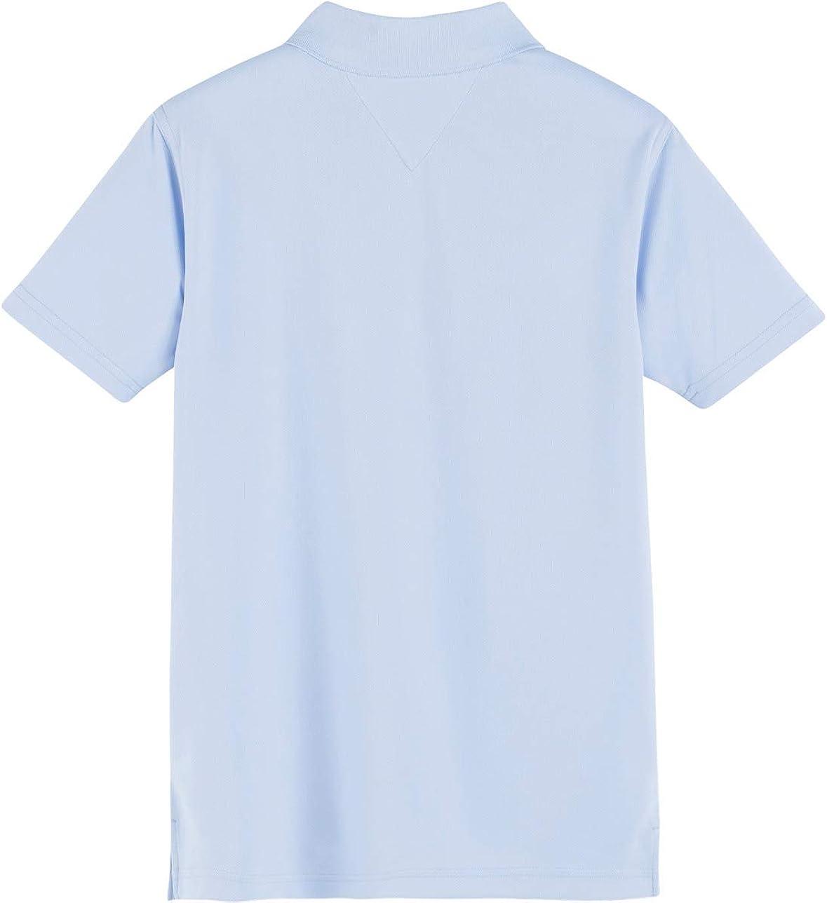 Boys /& Girls School Uniform Clothes Tommy Hilfiger Kids Short Sleeve Performance Co-ed Polo Shirt