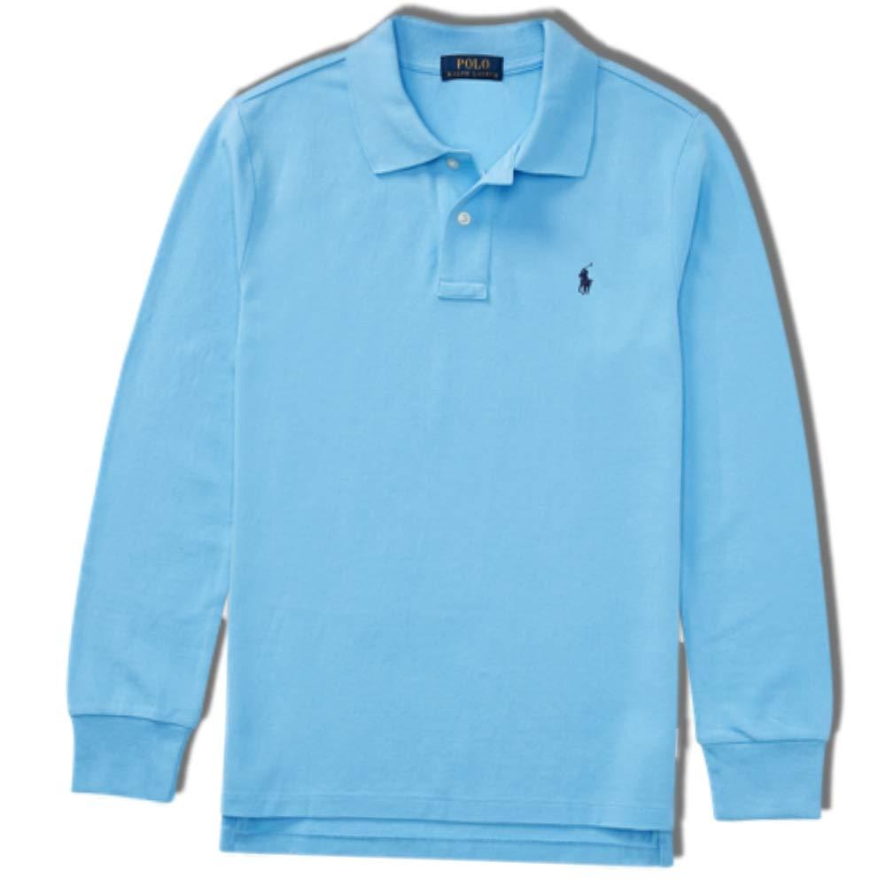 Ralph Lauren Polo Boys Long Sleeved Boys Polo t Shirt Age 8 (S)