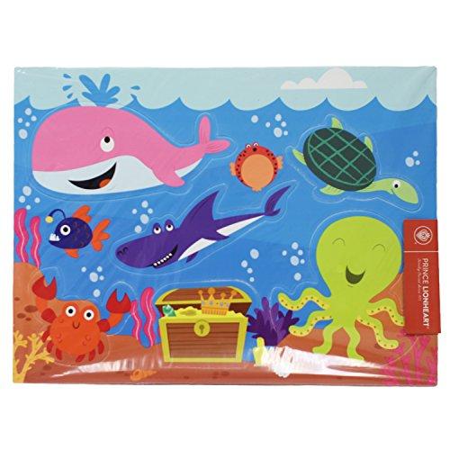 - Prince Lionheart Bath Puzzle, Ocean/Dino