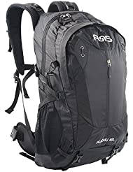 Funs 40L Internal Frame Camping Hiking Travel Daypack Backpack/w Rain Cover