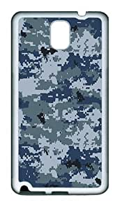 Multicam Camo Custom TPU Soft back Case for Samsung Galaxy Note 3 / Note III / N9000 White