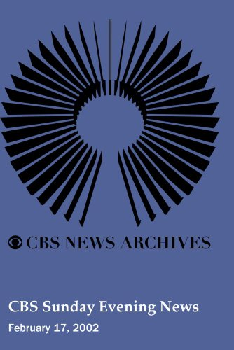 UPC 883629085807, CBS Sunday Evening News (February 17, 2002)
