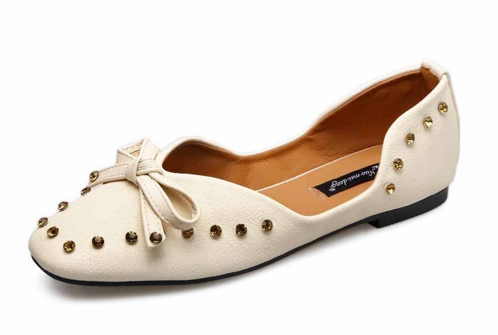 YantongGAO High Heels Mary Jane D'orsay - Bowknot-Aquarell mit rundem rundem rundem Absatz und hohem Absatz OL Damen Schuhe 99e3a1