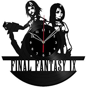 Amazon Com Final Fantasy Vii Vinyl Clock Record Wall