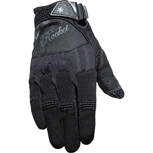 - Joe Rocket Heartbreaker Women's Textile Street Motorcycle Gloves - Black/Black/X-Large
