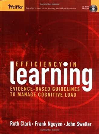 efficiency in learning evidence based guidelines to manage cognitive load